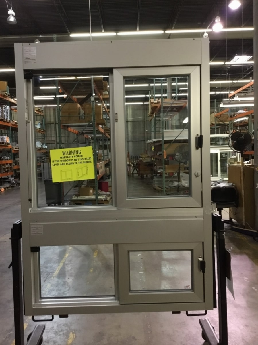 Custom double 600 walk up with handicap access bottom window