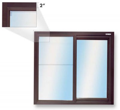 275 Low Profile Single Panel Slider