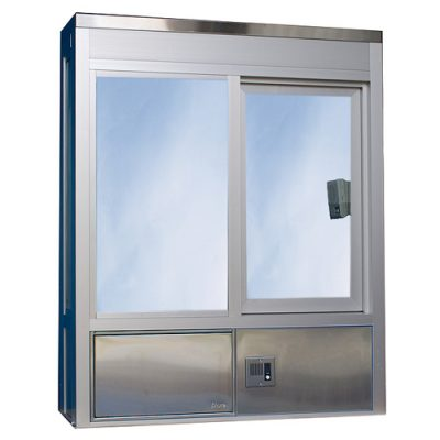 602 Bump Out Style Insulated, Hurricane or Security Window - No Service Drawer