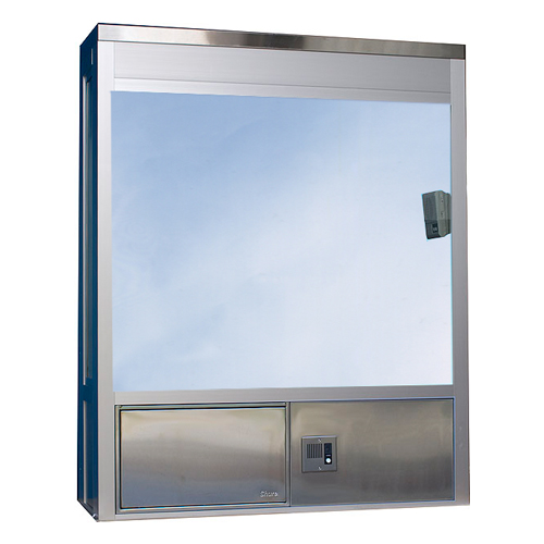 604 Security Window Fixed Pane With Service Drawer P Out Readyaccess
