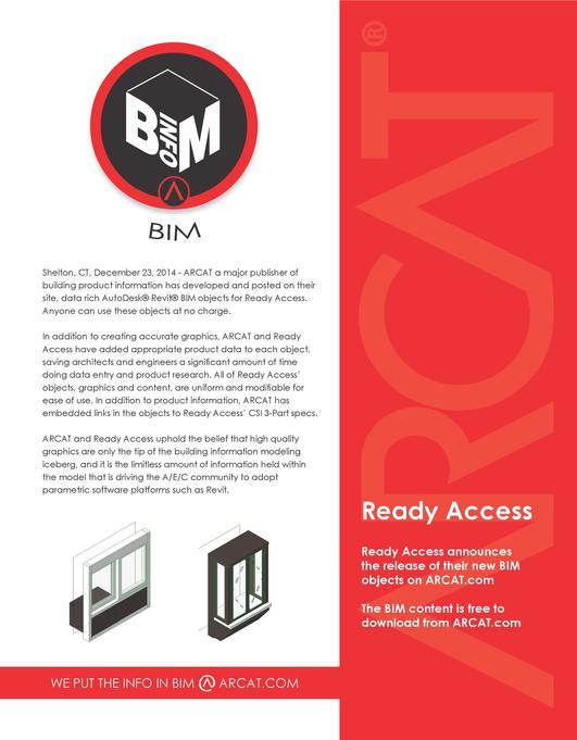 Ready Access BIM PR