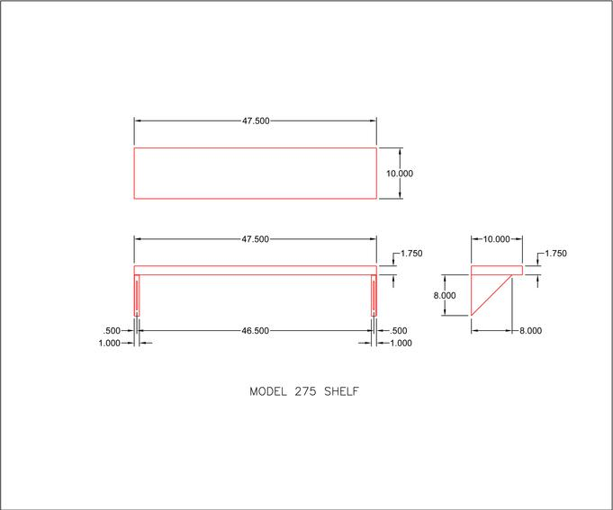 Stainless Steel Shelves For Transaction Windows Readyaccess