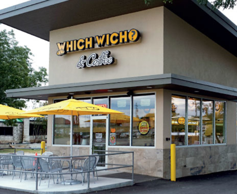 Which Wich drive-thru