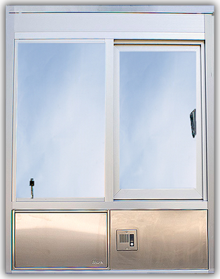 601 Operable Window with Service Drawer