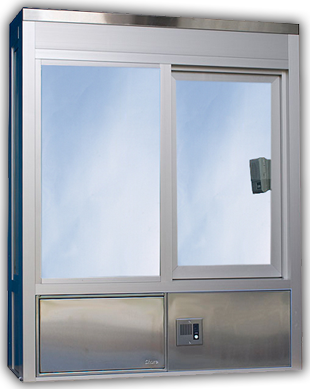 602 Operable Window with Service Drawer & Speaker