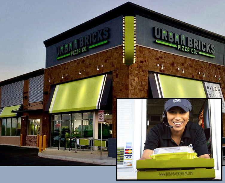 Fast-casual chain Urban Bricks Pizza drive thru